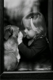 purity girl & dog