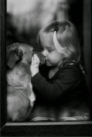purity girl & dog